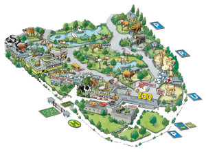 Plan Kölner Zoo