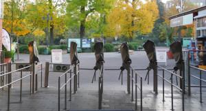 Eingang des Kölner Zoos 2015